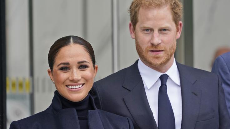 Royals-Gerüchten zufolge wollen Meghan Markle und Prinz Harry ihre Tochter Lilibet nicht in England, sondern in Kalifornien taufen lassen. (Foto)