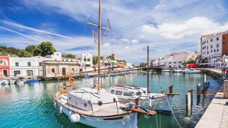 Der Hafen vonCiutadella war schon häufiger von einer Rissaga betroffen.