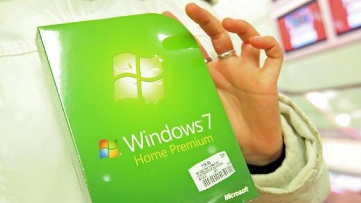 Auslaufmodell von Microsoft: Das Betriebssystem Windows 7 wird langsam auf die Rente vorbereitet, der Support wird nach und nach eingestellt. (Foto)