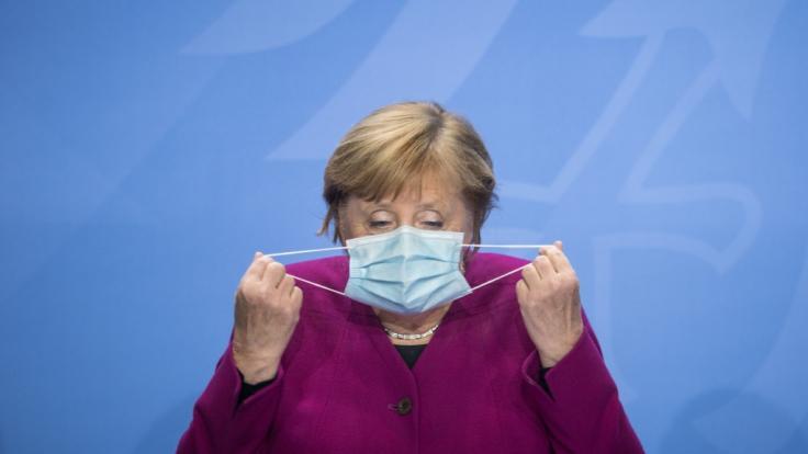 Angela Merkel befürchtet ein exponentielle Wachstum.