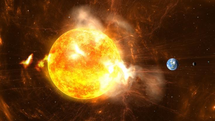 Ein Mega-Sonnensturm könnte unsere Zivilisation auslöschen.