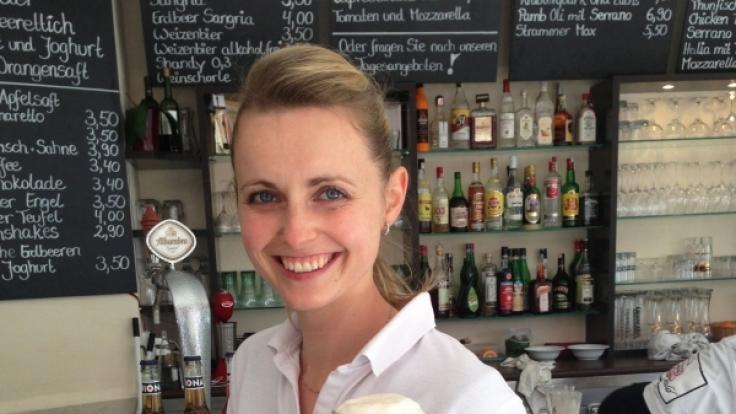 Susanne Kühnel betreibt ein Café auf Mallorca. (Foto)