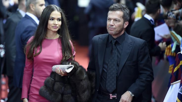 Lothar Matthäus und seine Frau Anastasia Klimko. (Foto)