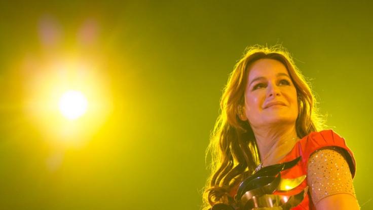 """Andrea Berg ist auch 2017 wieder mit """"Seelenbeben"""" auf Tour. (Foto)"""