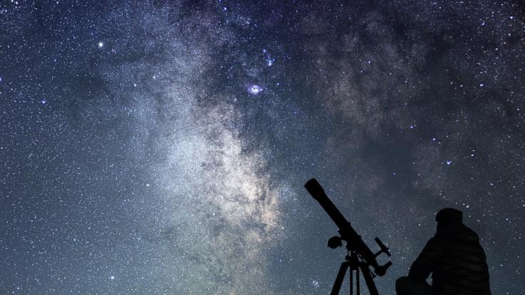 Im November gibt's einige Highlights am Nachthimmel.