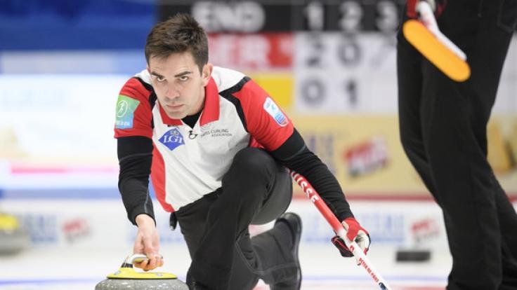 In St. Gallen finden an diesem Wochenende die Finals der Curling-EM 2017 statt. (Foto)