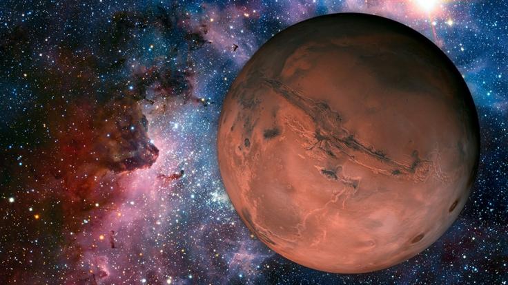 Wurde auf dem Mars etwa ein Alien-Raumschiff gefunden? (Foto)