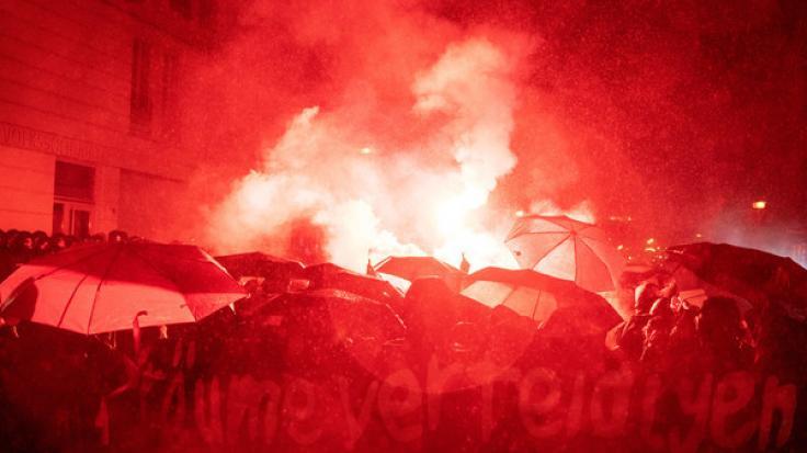 """Nach der Räumung von """"Liebig 34"""" kam es in Berlin zu Gewaltausbrüchen. (Foto)"""