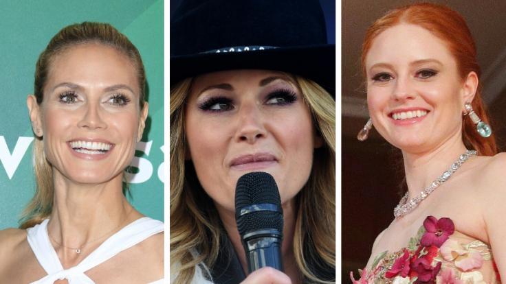 Heidi Klum, Helene Fischer und Barbara Meier: Sie alle sorgten für Unten-ohne-Schlagzeilen.