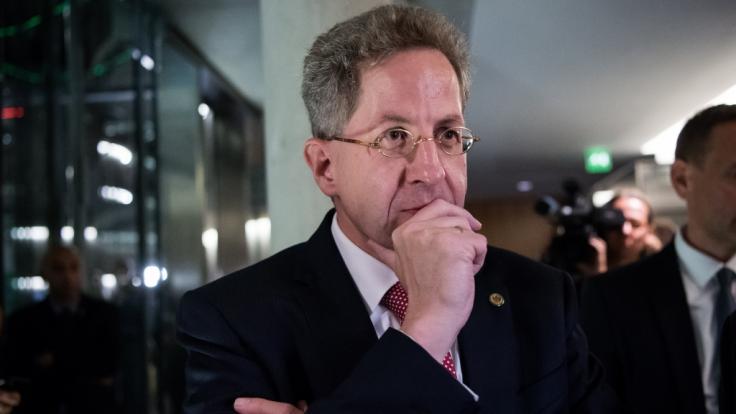 Maaßen war wegen seiner Äußerungen zu den Vorfällen in Chemnitz in die Kritik geraten. (Foto)