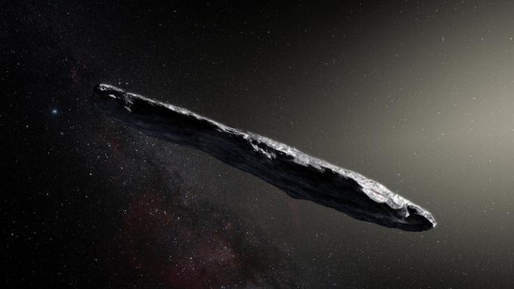 Worum handelt es sich bei diesem interstellaren Objekt? (Foto)