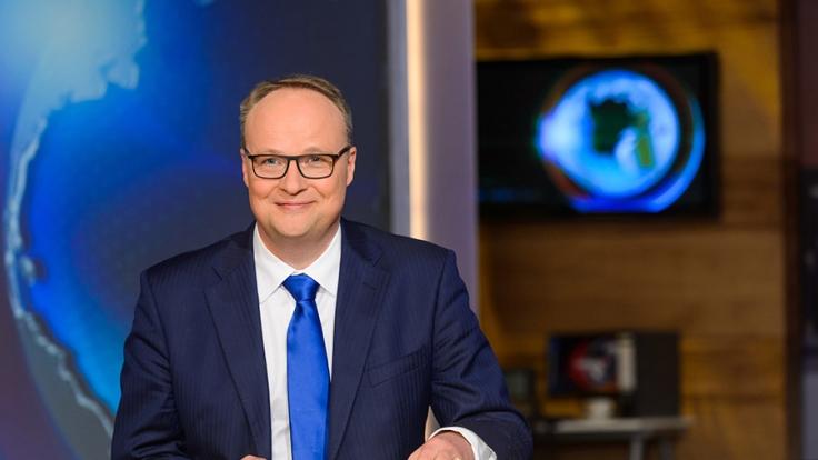 """In der """"heute-show"""" präsentiert Oliver Welke den satirischen Wochenrückblick. (Foto)"""