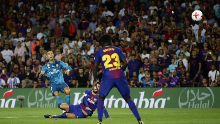 Nach dem Sieg im Hinspiel will Real Madrid auch in der zweiten Begegnung mit dem FC Barcelona punkten.