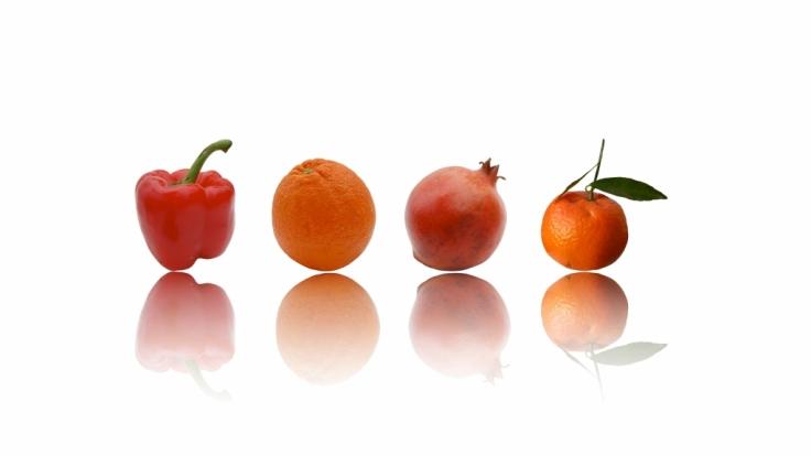 Gesundheit mit Obst und Gemüse (Foto)
