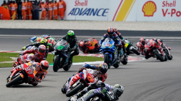 Wer macht beim MotoGP, Moto2 und Moto3 das Rennen?Alle Ergebnisse vom Großen Preis von Katar. (Foto)