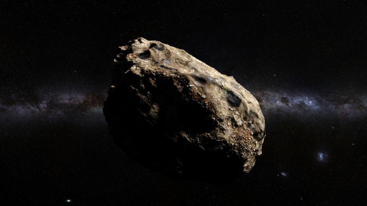 In dieser Woche fliegen zwei Asteroiden nah an der Erde vorbei. (Foto)