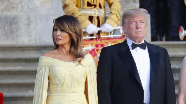 Eisige Stimmung zwischen Melania Trump und ihrem Mann Donald.