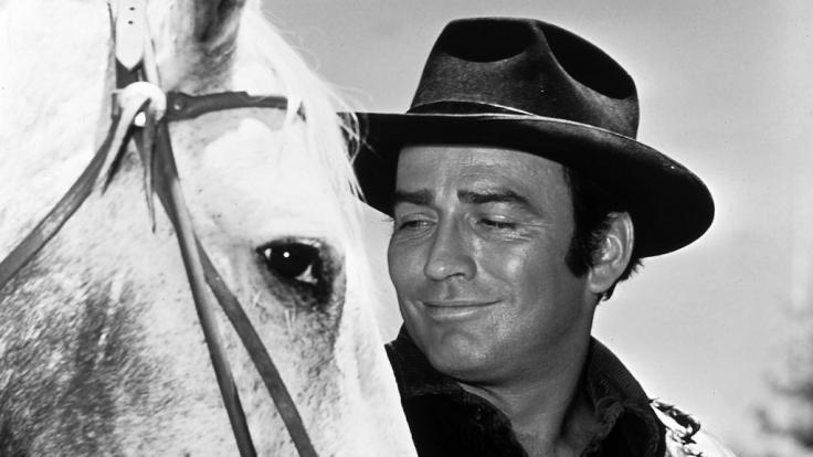 """James Drury wurde durch """"Die Leute von der Shiloh Ranch"""" berühmt. (Foto)"""