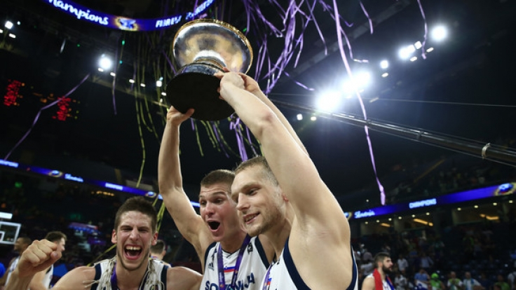 Slowenien hat es geschafft. Die Mannschaft wird erstmals Basketball-Europameister.