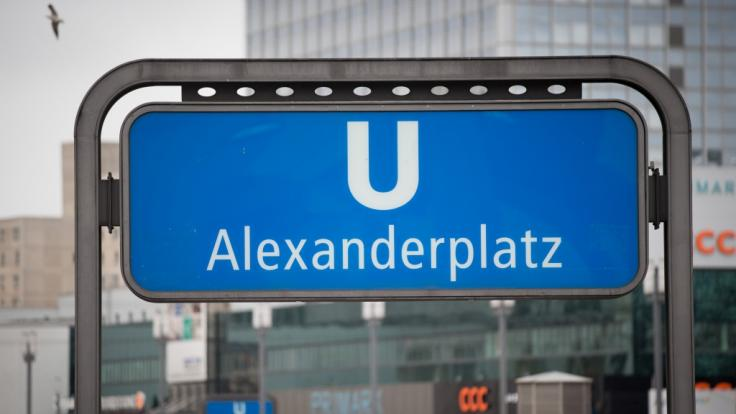Am Berliner Alexanderplatz kam es zu einer Massenschlägerei. (Foto)