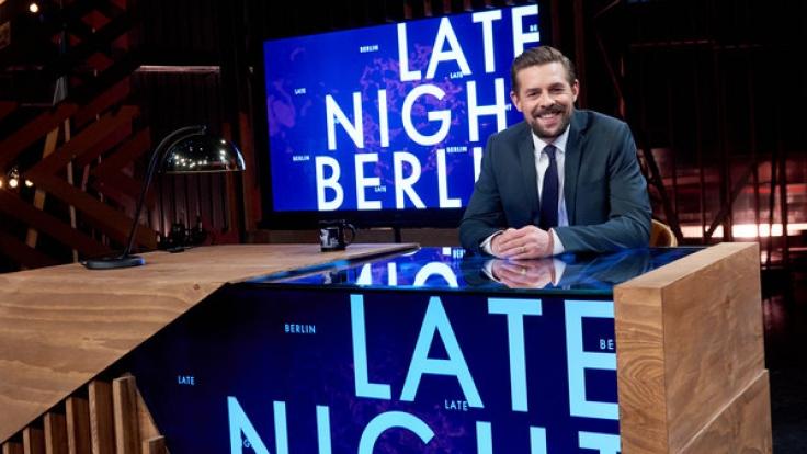 """Klaas Heufer-Umlauf geht mit seiner neuen Late Night Show """"Late Night Berlin"""" an den Start - diesmal ohne Joko Winterscheidt. (Foto)"""