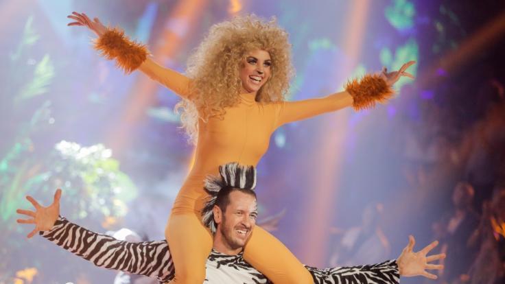 "Ekaterina Leonova und Pascal Hens gewinnen ""Let's Dance"". (Foto)"