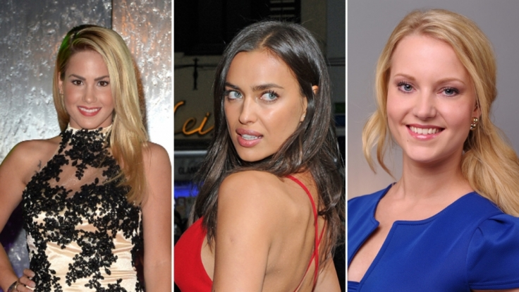 Angelina Heger (links), Irina Shayk (Mitte) und Leonie Pump haben eine Typveränderung hinter sich. (Foto)