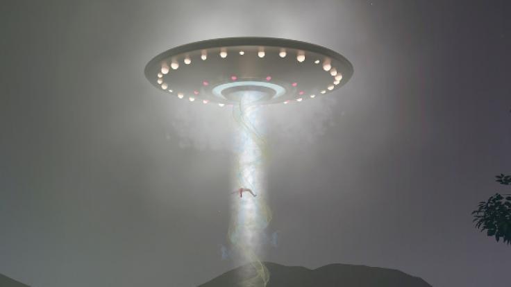 """Das von Revell vertriebene Nazi-Ufo""""Haunebu 2"""" hat es in der Realität so wohl nie gegeben. (Symbolbild) (Foto)"""
