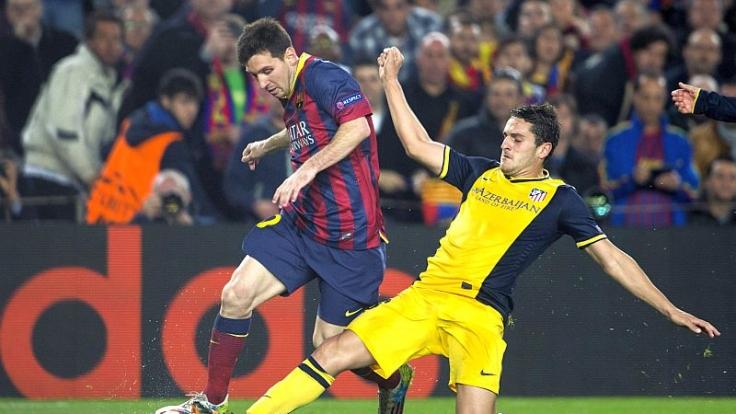 Stoppt Atletico Zauberer Messi?