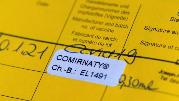 Die EU arbeitet an einem gemeinsamen Impfpass. Sonderrechte für Geimpfte soll es vorerst nicht geben. (Foto)