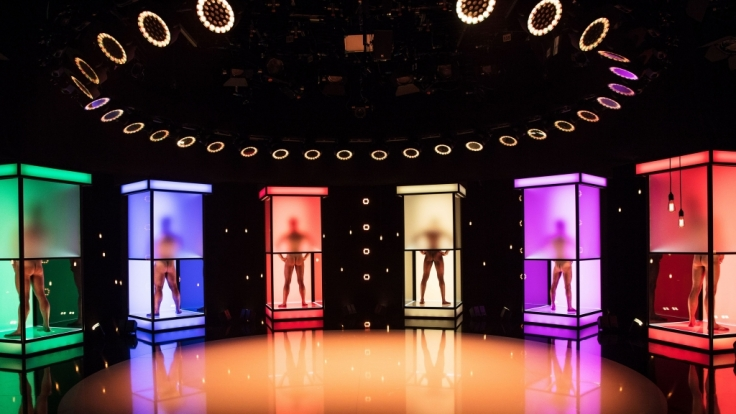 """In der neuen Show """"Naked Attraction - Dating hautnah"""" machen sich die Kandidaten bei RTL II nackig, um potenzielle Partner anzuziehen. (Foto)"""