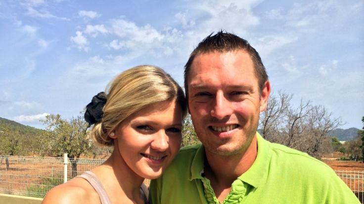 Zumindest privat hat Jenny ein neues Glück gefunden - mit ihrem Freund Michael. (Foto)