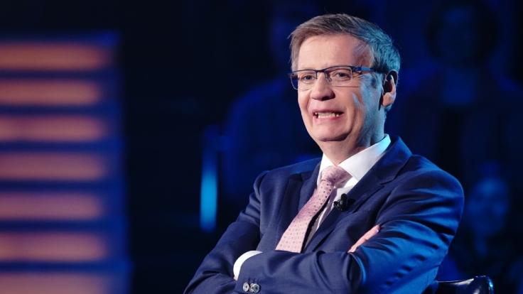 Günther Jauch lässt die Kandidaten auch diese Woche wieder zittern. (Foto)