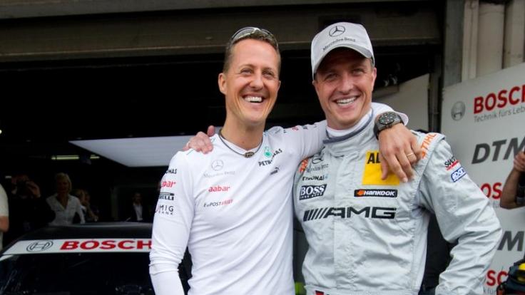 Gemeinsam machten Michael und Ralf Schumacher die Rennwelt unsicher.