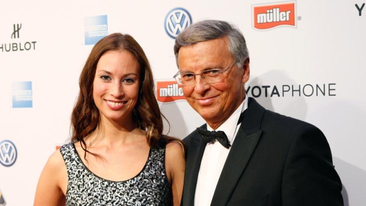 Wolfgang Bosbach (CDU) und seine älteste Tochter Caroline.