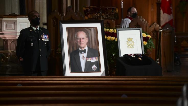 Nach dem Tod von Prinz Philip ist das Erbe des Herzogs von Edinburgh aufgeteilt worden.Prinz Philip war am 9. April im Alter von 99 Jahren gestorben. (Foto)