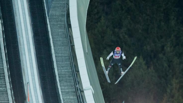 Nach Garmisch-Patenkirchen geht es bei der Vierschanzentournee am 3. und 4. Januar 2017 nach Innsbruck auf die Bergiselschanze. (Foto)