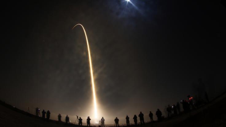 Könnte das strahlende Objekt ein Hinweis auf Außerirdische sein? (Symbolbild) (Foto)