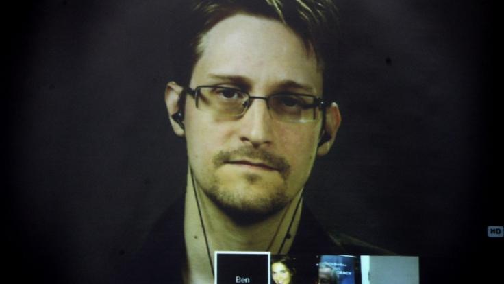 Joseph Gordon-Levitt verkörpert im Film den Whistleblower Edward Snowden, der zur Zeit in Moskau im Exil lebt. (Foto)