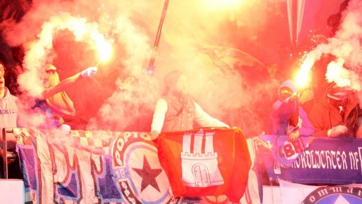 Auch die Fans vom Hamburger SV zeigen ihre Liebe zum Verein. (Symbolbild) (Foto)