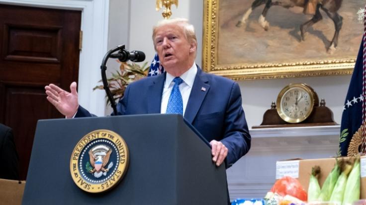 Donald Trump glaubt an eine weitere Amtszeit als US-Präsident. (Foto)