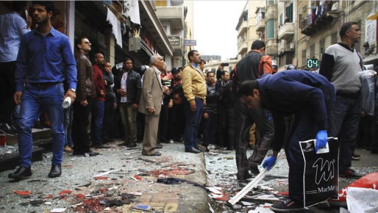 Den Palmsonntag (9.4.2017) erschütterten Bombenanschläge auf zwei koptische Kirchen in Ägypten.