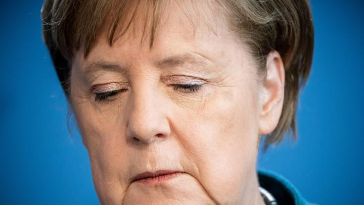 Angela Merkel musste wegen Kontakt zu infiziertem Arzt mit Covid-19 in Quarantäne. (Foto)