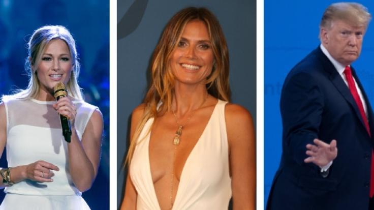 Helene Fischer, Heidi Klum und Donald Trump in den Promi-News der Woche. (Foto)