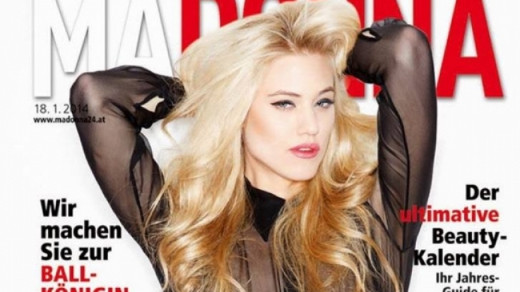 Larissa Marolt gewann erst Austria's Next Topmodel und war dann bei Heidi Klum zu sehen.