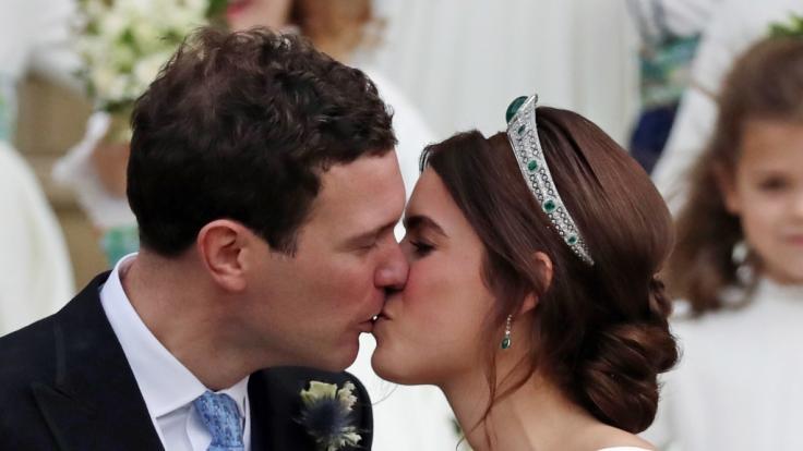 Vor drei Jahren haben Prinzessin Eugenie und Jack Brooksbank geheiratet. (Foto)