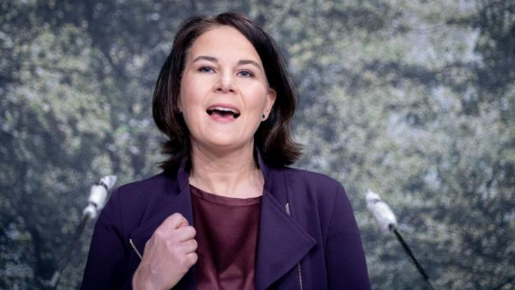 Annalena Baerbock wurde als Kanzlerkandidatin der Grünen nominiert (Foto)
