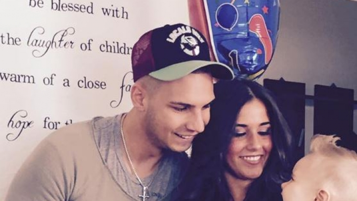 Ein Foto aus glücklicheren Zeiten: Sarah und Pietro Lombardi feierten im Juni Alessios ersten Geburtstag.
