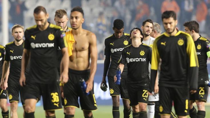 Borussia Dortmund steht vor einem frühen Champions-League-Aus.