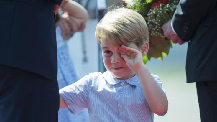 Prinz George ist traurig, weil er seine Mutter Kate Middleton vermisst. (Foto)